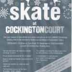 Skate at Cockingon Court this Christmas!
