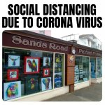 SOCIAL DISTANCING DUE TO CORONA VIRUS