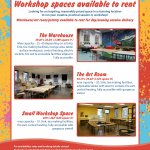 Workshop space available to hire
