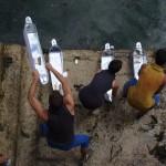 YOU TUBE clip  Mayflower Steps TASKFORCE Installation
