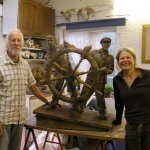 Fish Man & Boy / Fishermen In Sculptural Heritage (FISH)