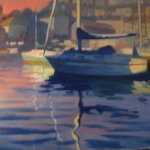 Roland Wallis / Painter working in Brixham