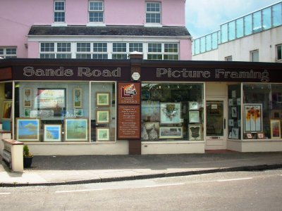Display Space in Sands Road Framing Shop / Gallery, Paignton