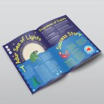 Adur Sea of Lights Corporate Identity Magazine Design