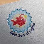 Adur Sea of Lights Logo Design