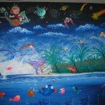 Albie's Mural 5 - 10 feet x 8 feet