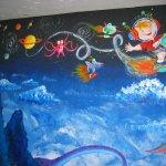 Albie's Mural 8 - 10 feet x 8 feet