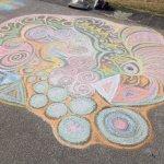 Chalk on the Prom Littlehampton Art Festival 2014