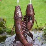 Koi Carp Fountain