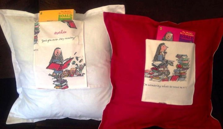 Matilda Book Cushions