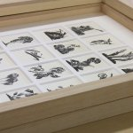 multiple aperture wood engraving
