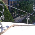 Oak Leaf handrail
