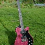 Purpleheart Kaiser Electric Guitar