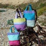 Soft handmade small bags