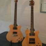 The electric models; Sultan on the left and Kaiser on the right