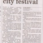 Community discussion: A new city festival for Chichester?