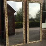 Cleall Antiques / Pair of mirrors, English mirrors, Antique French mirrors, Old F